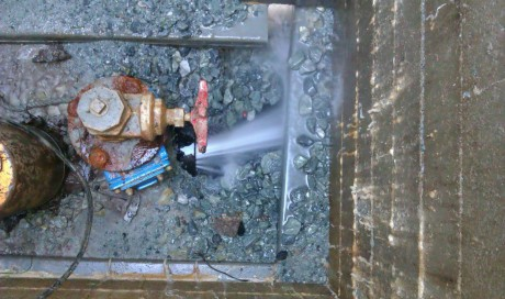 New Southgate Burst Main Repair